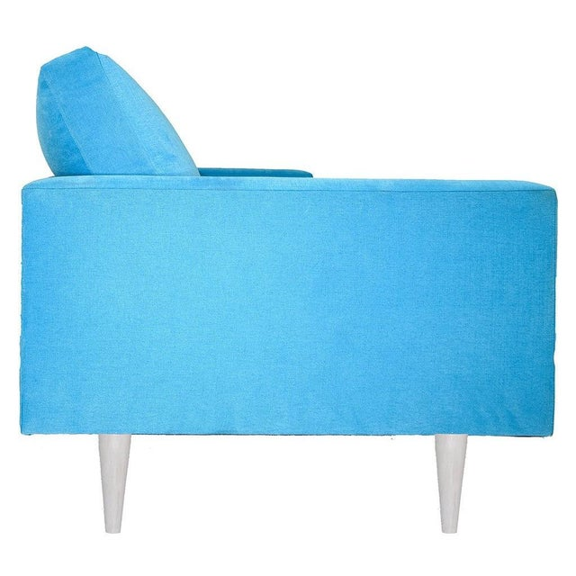 Mid-Century Modern Modern Mid-Century Style Raven Sofa For Sale - Image 3 of 4