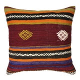 "Image of Rug & Relic Kilim Pillow | 18"" For Sale"