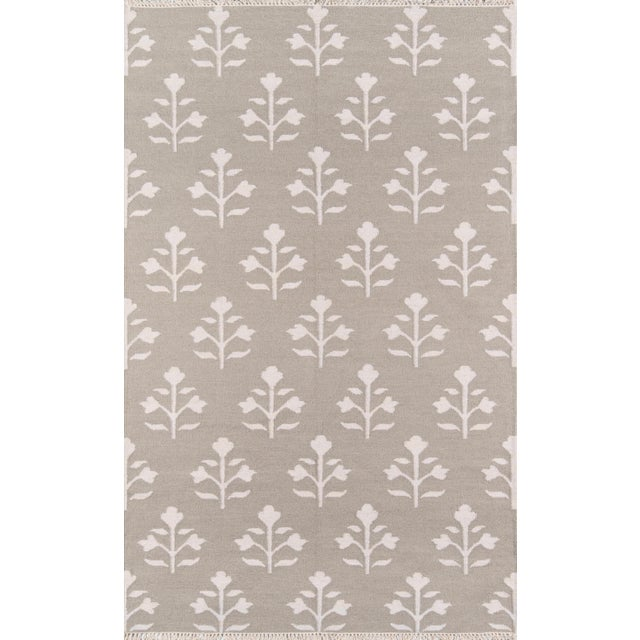 """Erin Gates Thompson Grove Grey Hand Woven Wool Runner 2'3"""" X 8' For Sale In Atlanta - Image 6 of 7"""