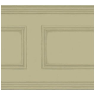 Cole & Son Library Frieze Wallpaper Roll - Olive For Sale