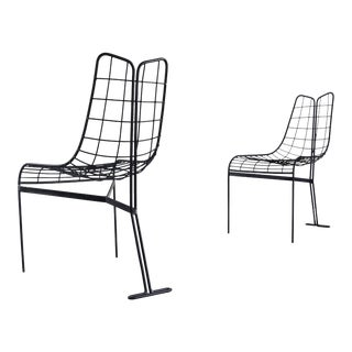 Vladmir Kagan Capricorn Sculptural Outdoor/Indoor Chairs - a Set of 2 For Sale