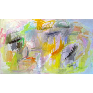 """Spring Break"" by Trixie Pitts Large Abstract Oil Painting For Sale"