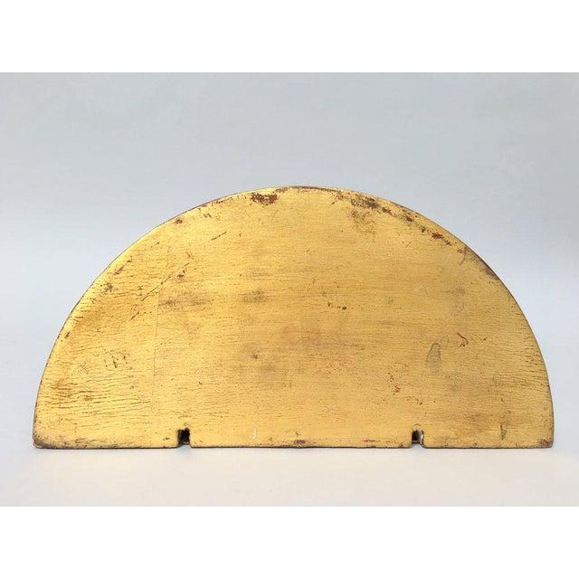 Italian Gilt Wood Wall Shelf Sconce For Sale - Image 4 of 9