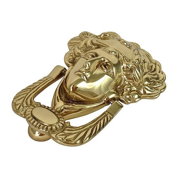 Brass Medusa Door Knocker - Image 2 of 5
