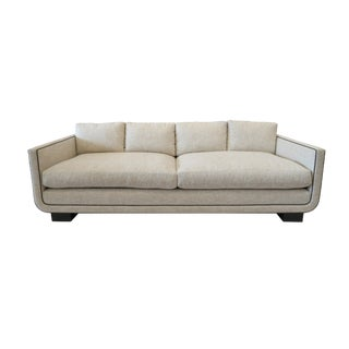 Modern Martin and Brockett Streamline Harrison Sofa For Sale