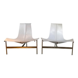Contemporary William Katavolos Lounge T-Chair for Laverne - a Pair For Sale