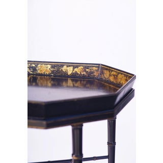 19th C. English Paper Mache Tray Table Preview