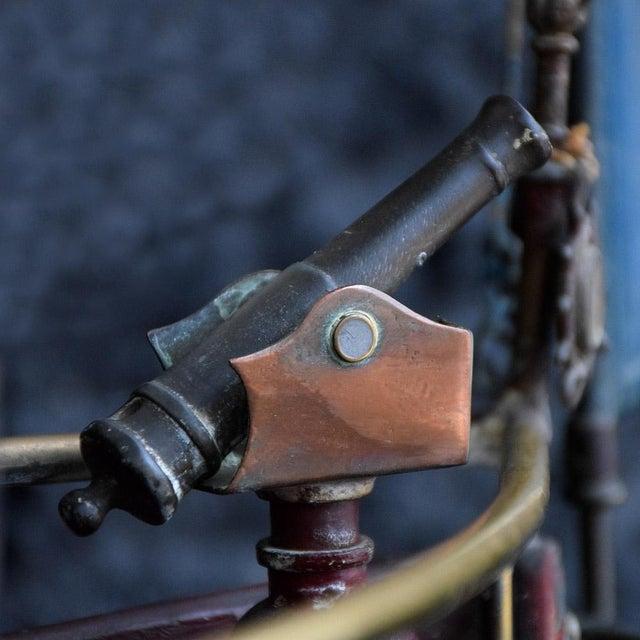 19th Century Votive Copper Sea Vessel For Sale - Image 11 of 13