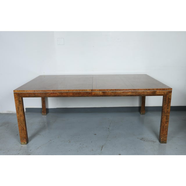 Master Burlwood Dining Table - Image 2 of 11