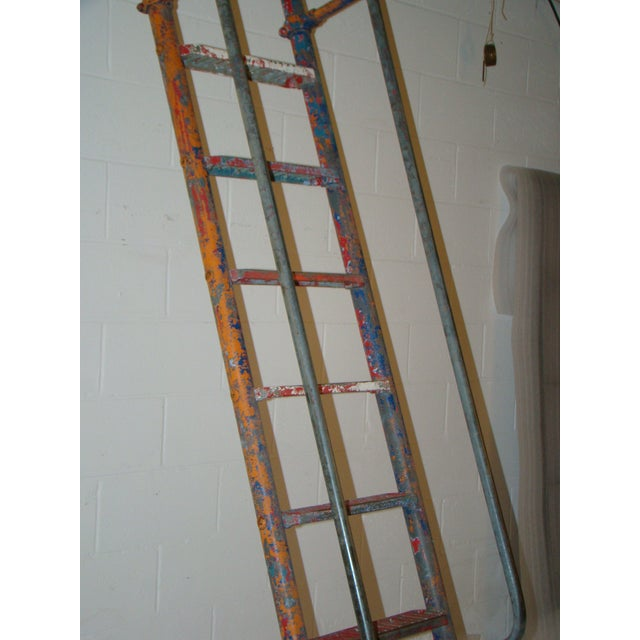 Vintage Steel American Playground Ladder For Sale - Image 9 of 11