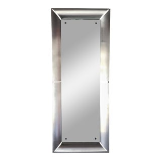 Italian Space Age Rectangular Mirror Final Clearance Sale For Sale