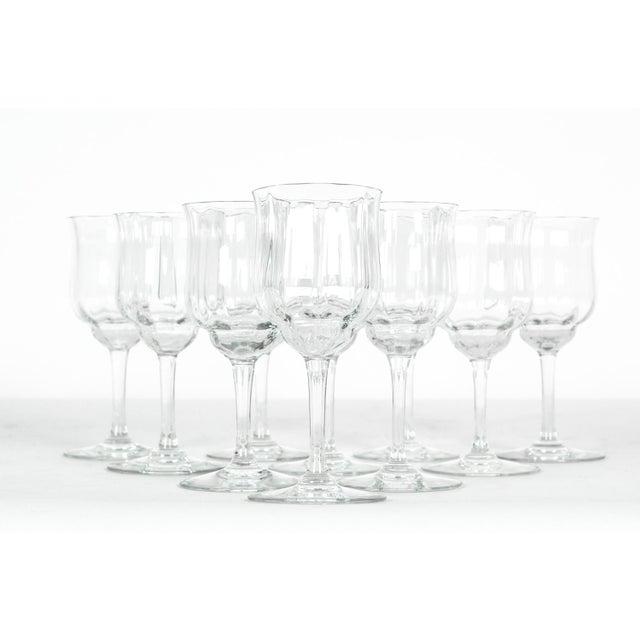 Vintage Baccarat Crystal Wine Glassware - Set of 10 For Sale In New York - Image 6 of 6