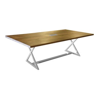 X Base Conference Table For Sale