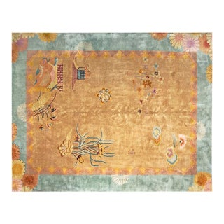 1920s Chinese Art Deco Rug - 9'x11'6""