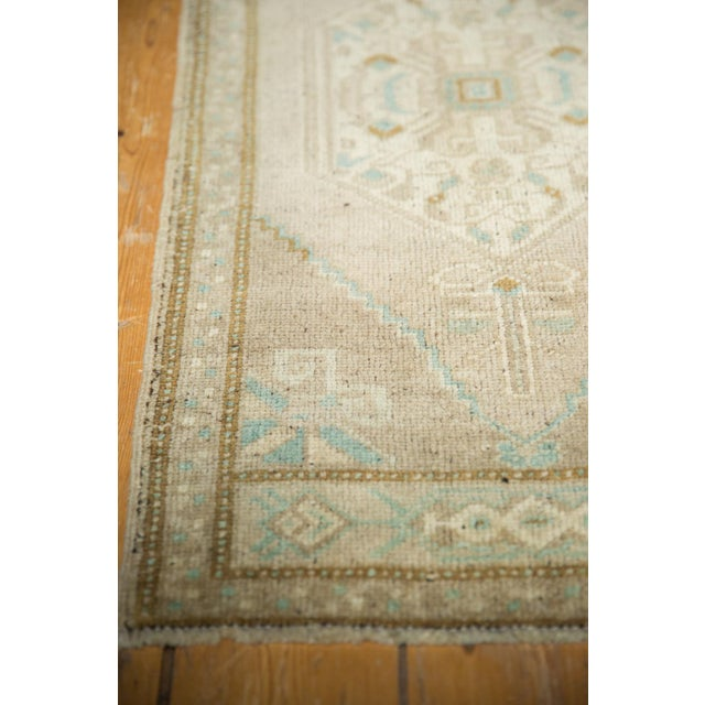 "1970s Vintage Distressed Oushak Rug Mat Runner - 1'9"" X3'6"" For Sale - Image 5 of 7"