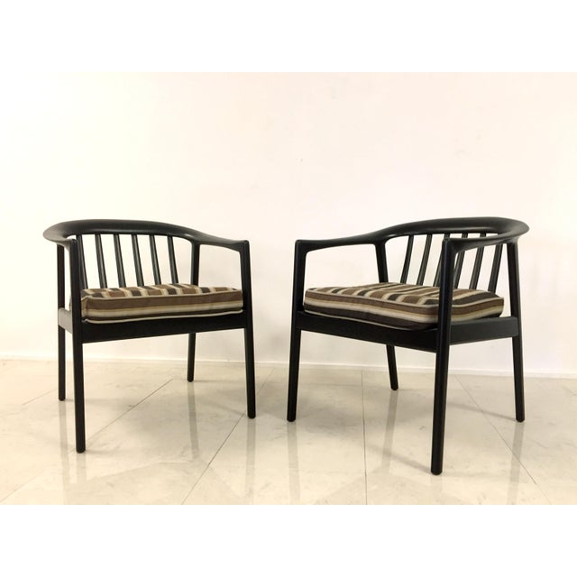 Folke Ohlsson Dux Folke Ohlson Danish Modern Chairs - A Pair For Sale - Image 4 of 7
