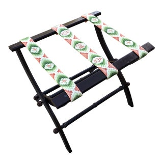 1980s Asian Style Luggage Rack For Sale