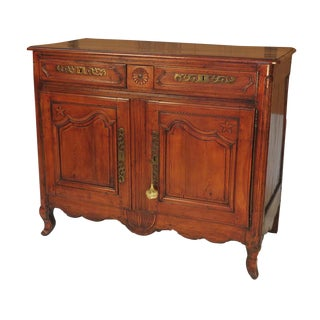 Circa 1780 Louis XVI Period French Buffet For Sale