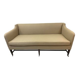 Chippendale Style One Cushion Sofa For Sale