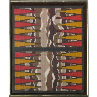 Backgammon Board Needlepoint