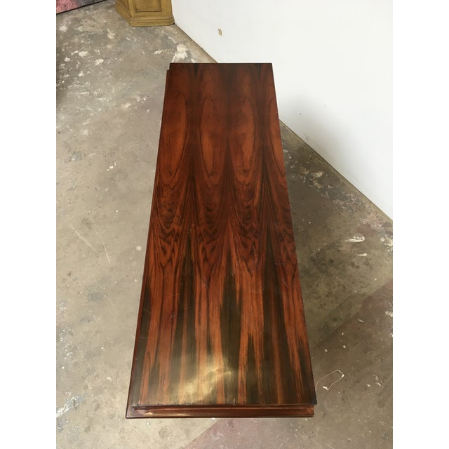 Art Deco Console in Rosewood For Sale - Image 11 of 12