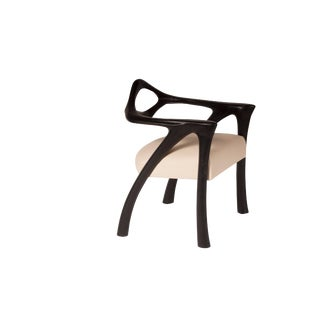Amorph Darcey Ebony Stain Dining Chair For Sale