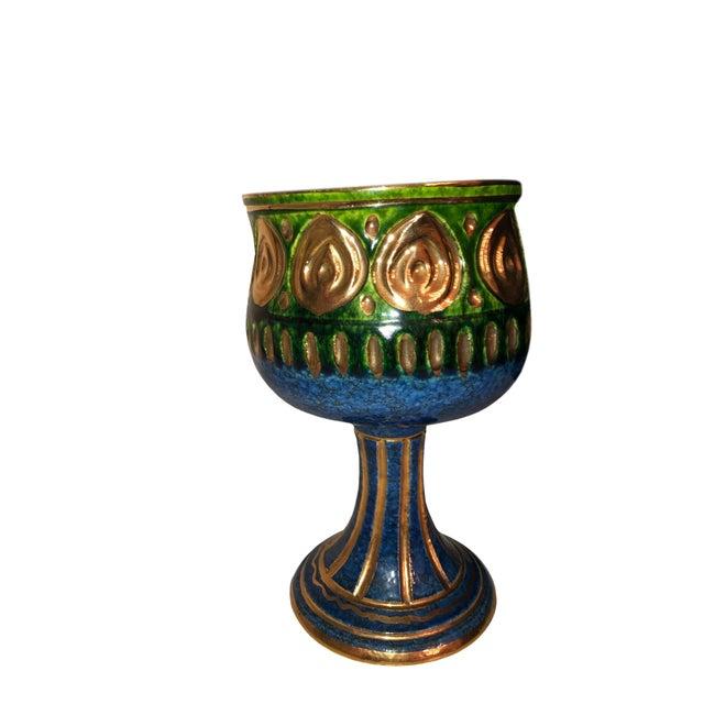 1970s Vintage Rosenthal Netter Chalice Vase For Sale - Image 5 of 5