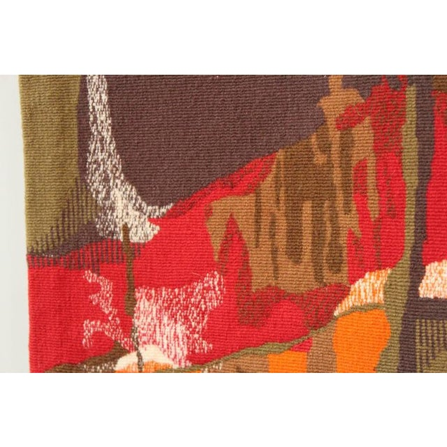 """Mathieu Matégot Tapestry Titled """"19 Composition"""" For Sale In Dallas - Image 6 of 10"""