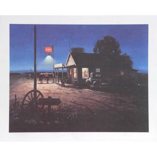 Duane Bryers, Four Corners Cafe, Lithograph For Sale