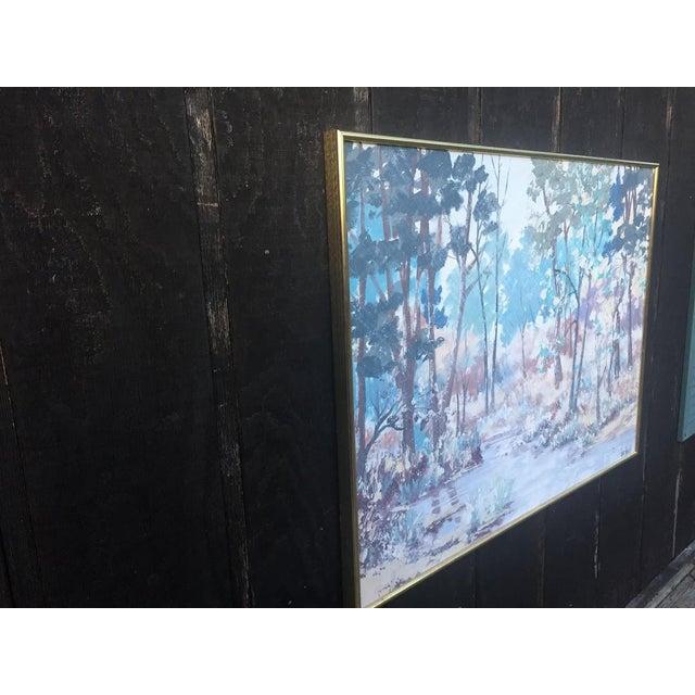 Mid-Century Modern Lee Reynolds Vanguard Studios Oil Painting For Sale - Image 3 of 10