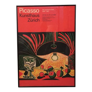 1968 Picasso Exhibition Poster For Sale