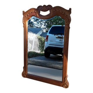 Lexington Victorian Sampler Vertical Mirror For Sale