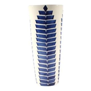 """Karin Björquist for Gustavsberg Sweden """"Indigo"""" Series Vase For Sale"""