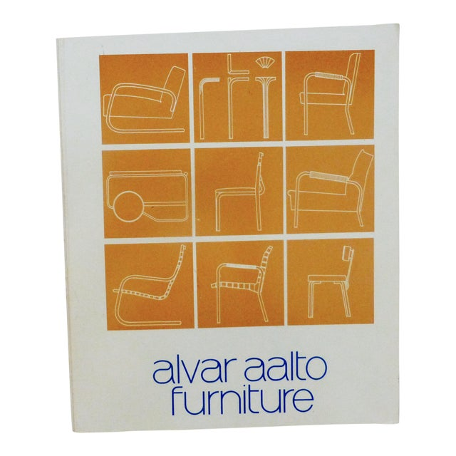 Alvar Aalto Furniture Book For Sale