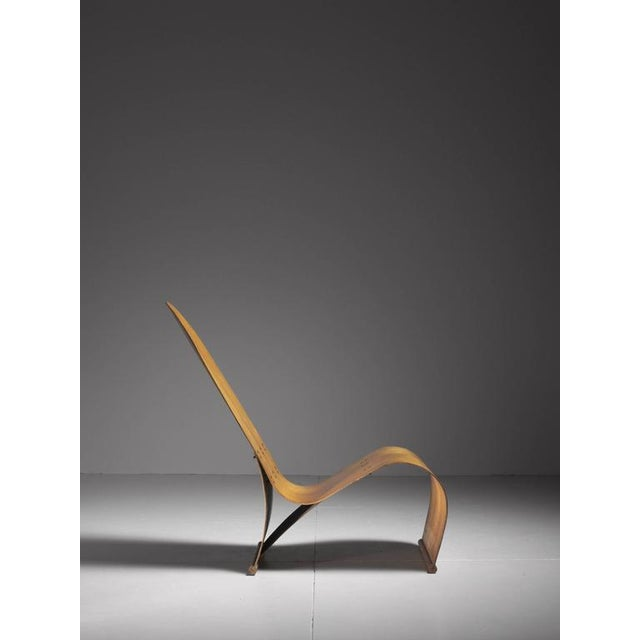 1940s Herbert Von Thaden Bent Plywood Lounge Chair, USA, 1940s For Sale - Image 5 of 10