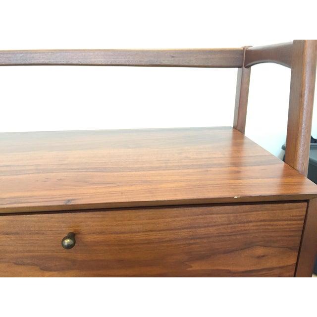 Mid Century Walnut Secretary Desk - Image 6 of 8