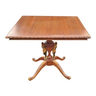 19th Century Italian Renaissance Center Table For Sale