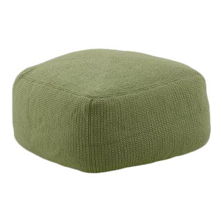 Cane-Line Divine Footstool, Olive Green For Sale
