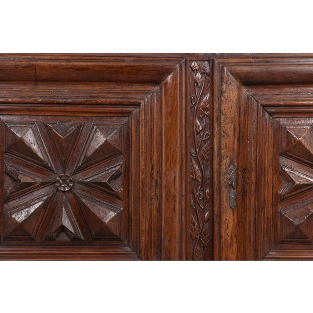 French 18th Century Louis XIII-Style Walnut Buffet For Sale In Baton Rouge - Image 6 of 13