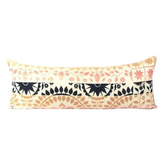 Multi Color Woven Bed Accent Pillow