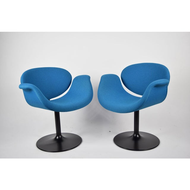 Pair of Little Tulip Chairs by Pierre Paulin for Artifort - Image 7 of 10