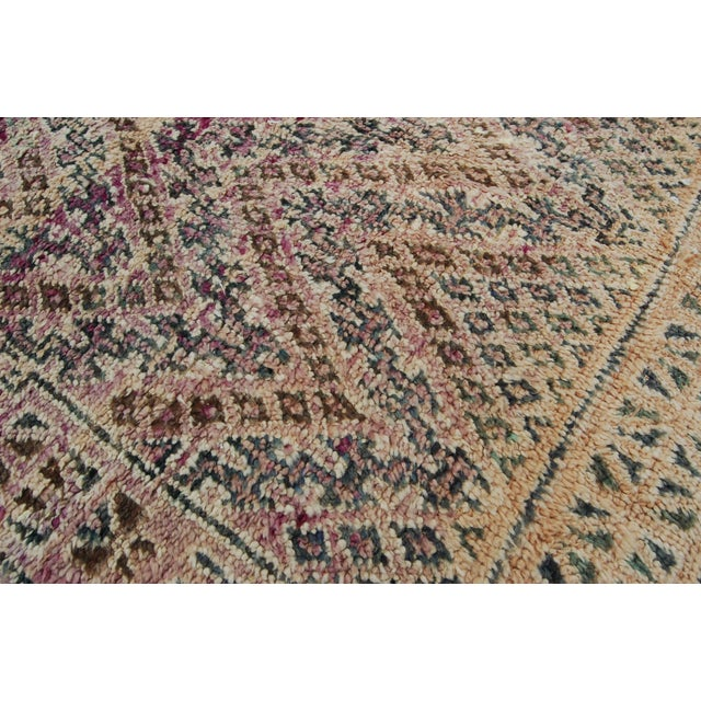 Textile Moroccan Berber Rug For Sale - Image 7 of 9