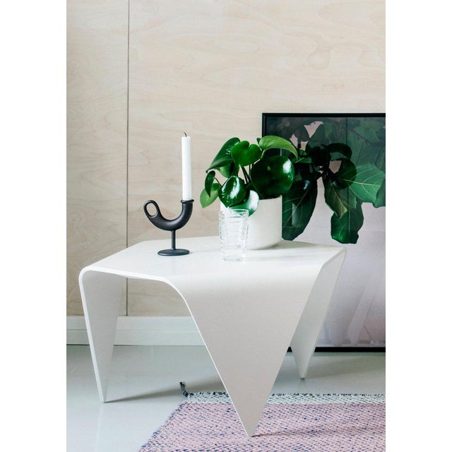 Not Yet Made - Made To Order Authentic Trienna Table in White Lacquer by Ilmari Tapiovaara & Artek For Sale - Image 5 of 6