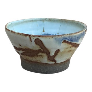 American Earthenware Ceramic Bowl For Sale