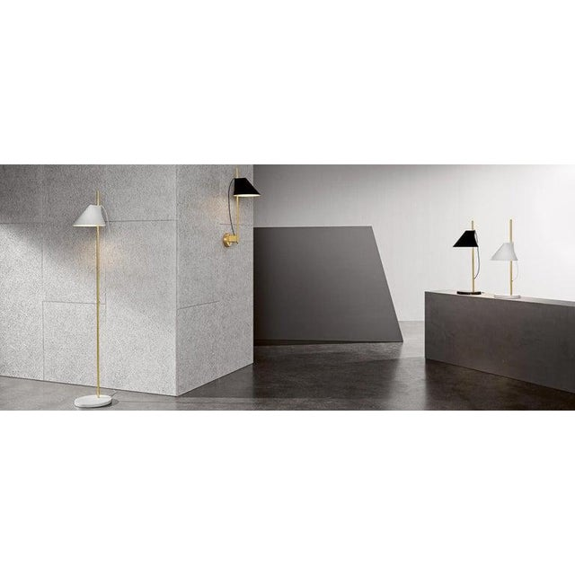 Not Yet Made - Made To Order GamFratesi White and Brass 'Yuh' Wall Light for Louis Poulsen For Sale - Image 5 of 6