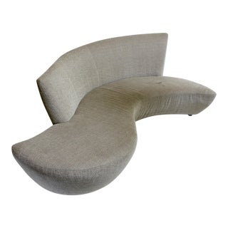 Vladimir Kagan for Weiman Sculptural Bilbao Sofa