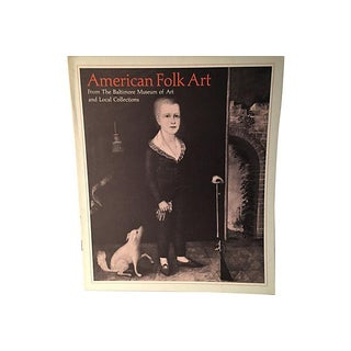 American Folk Art Baltimore Museum 1978 For Sale