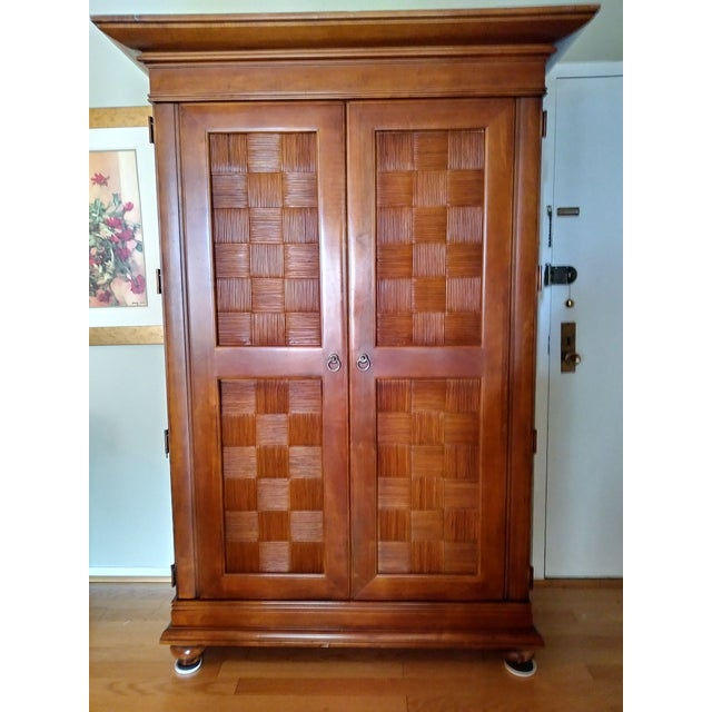 Stanley Furniture Wooden Armoire - Image 6 of 9