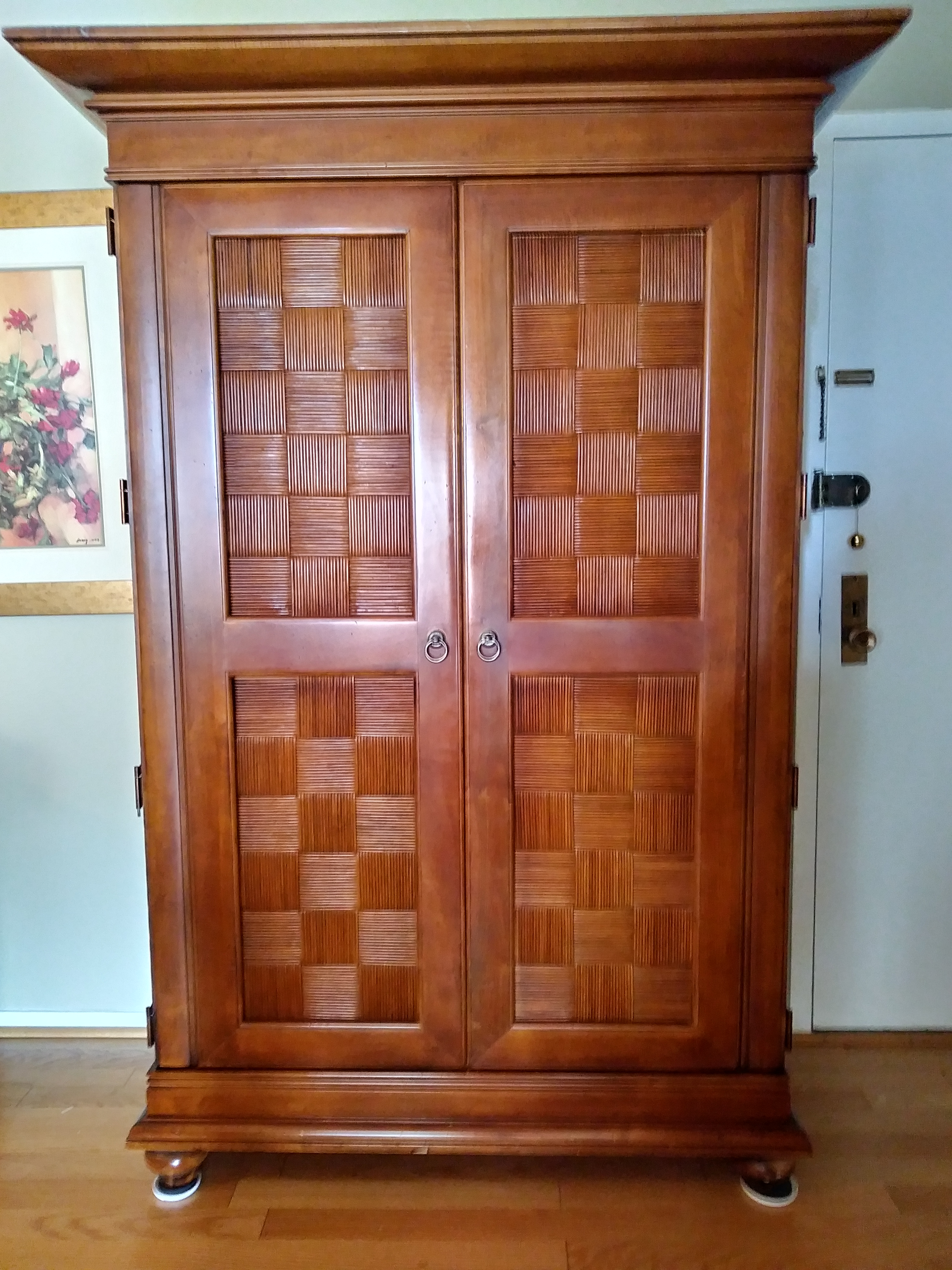 Ordinaire Stanley Furniture Wooden Armoire   Image 6 Of 9