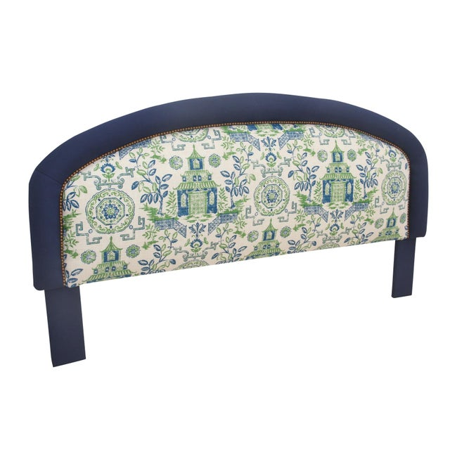 King Size Chinoiserie Style Headboard - Image 2 of 4